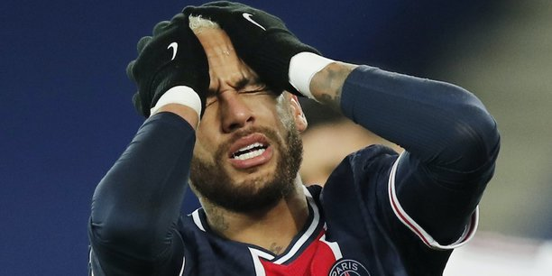 La star du PSG Neymar, le 28 novembre dernier, contre Bordeaux.