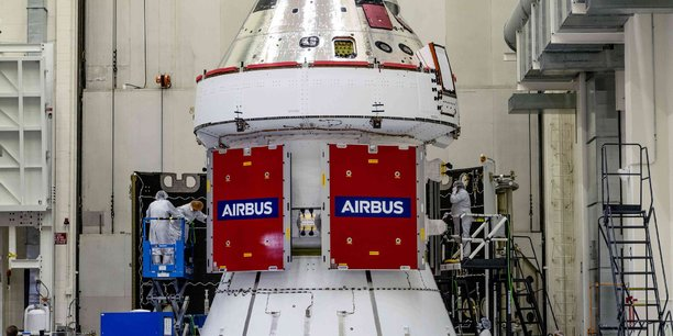 Station lunaire américaine : Airbus fournira les premiers taxis aux astronautes - La Tribune