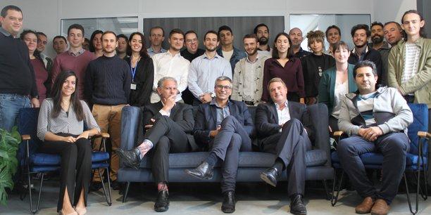 L'équipe de FineHeart est composée de 35 salariés entre Pessac et Tours.