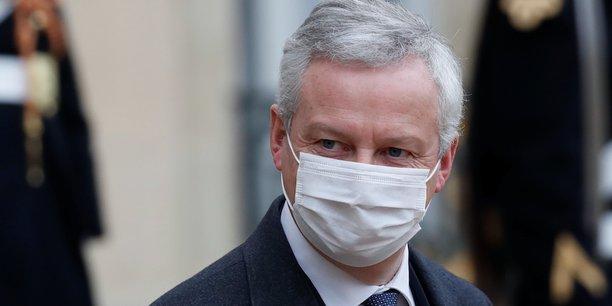 Aujourd'hui, on protège les Français, on protège les salariés, on protège les entreprises, mais il faudra le moment venu qu'on retrouve des finances publiques qui soient saines, a averti Bruno Le Maire.