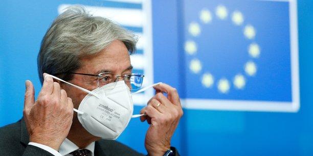 Les ministres des finances européennes se sont réunis lundi à Bruxelles aux côtés de Paolo Gentiloni, commissaire européen à l'économie, pour préparer la sortie de crise.