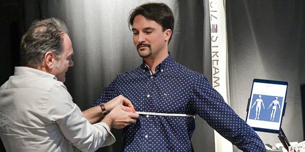 Lectra se lance dans la Mode à la demande qui passe par la création d'un clone numérique du client, calculé au millimètre près (ici dans son laboratoire de recherche).