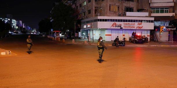 Des roquettes tirees sur la zone verte de bagdad, pas de victime, selon l'armee irakienne[reuters.com]