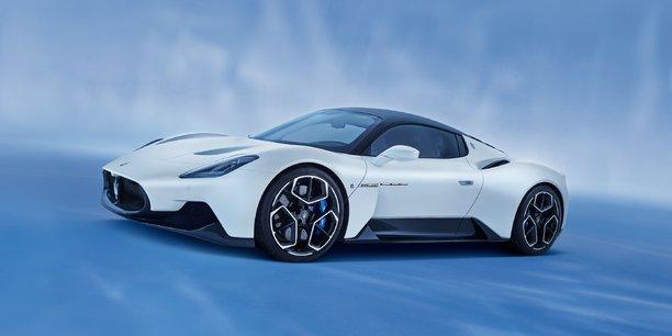 Présenté en septembre dernier, le MC20 doit consacrer le retour de Maserati sur les supercars. Pas encore commercialisé, la marque a déjà pré-vendu toute la production prévue en 2021...