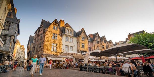 (Credit ADT Touraine JC Coutand ) Le centre-ville de Tours peut atteindre 4.500 euros du m2.
