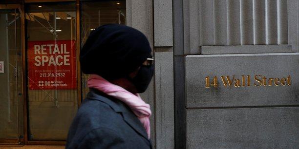 La bourse de new york en nette baisse a l'ouverture[reuters.com]