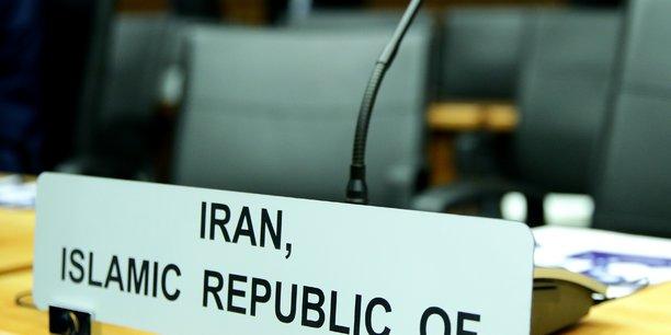 Washington regrette le refus de l'iran de discuter de l'accord de 2015[reuters.com]