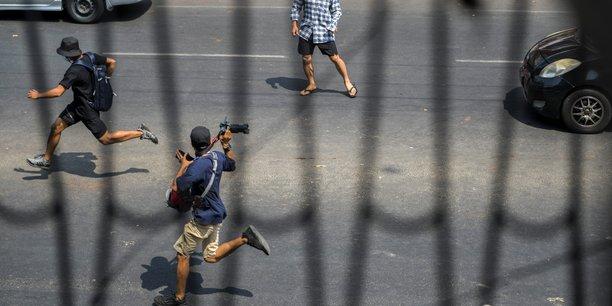 Birmanie: les usa appellent a la liberation d'un journaliste d'ap[reuters.com]