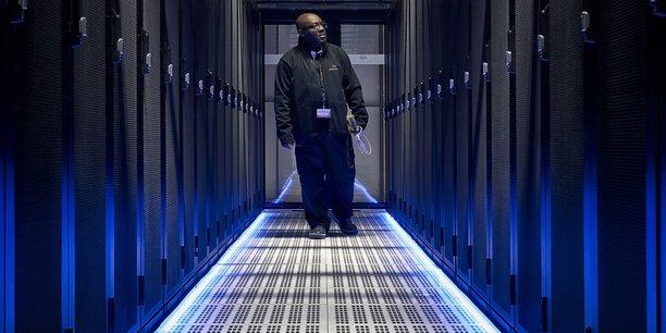 Un data center géré par Equinix à Pantin, en Seine-Saint-Denis.