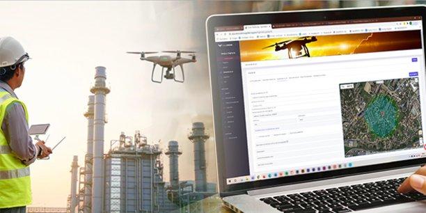 La solution de Drone Geofencing a été retenue par Enedis Languedoc-Roussillon pour la surveillance et de l'entretien des lignes électriques.
