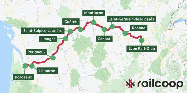 L'opérateur ferroviaire coopératif Railcoop bientôt sur la ligne Bordeaux-Lyon et d'autres - La Tribune Toulouse