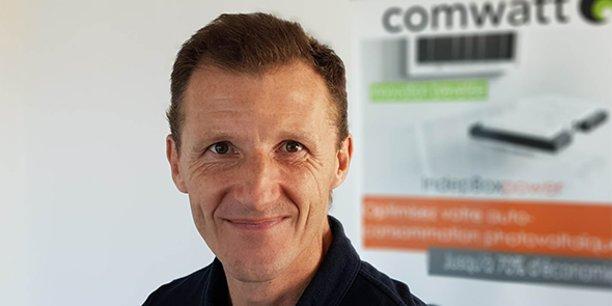 Grégory Lamotte, cofondateur de Comwatt.