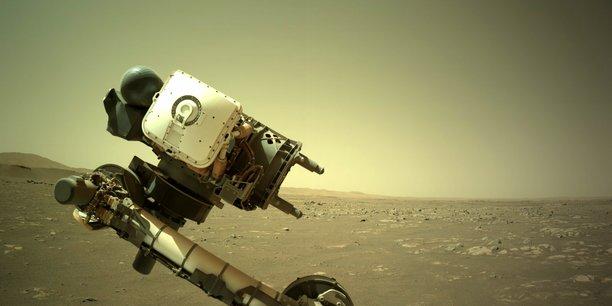 Le micro toulousain de la Supercam a réussi à capter les premiers sons de Mars.
