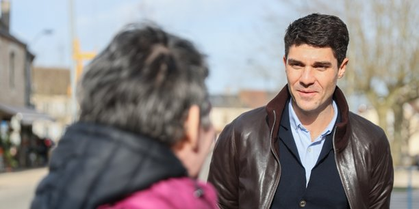 Aurelien Pradié est la tête de liste du parti Les Républicains pour les élections régionales en Occitanie.