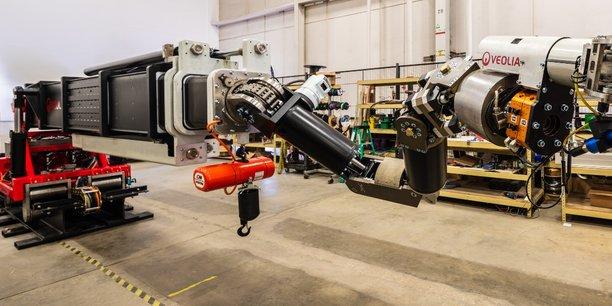 Le secteur du nucléaire demande, pour des raisons de sécurité, de recourir à des robots privés d'électronique et d'hydraulique, que nous produisons aux Etats-Unis et au Royaume-Uni. Et au Japon, où pourtant les robots sont partout, cette technologie particulière est peu présente, explique Veolia.