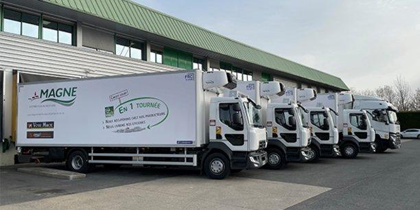 L'entreprise lozérienne Magne Distribution approvisionne aujourd'hui quelque 700 commerces sur 15 départements, principalement en zone rurale.