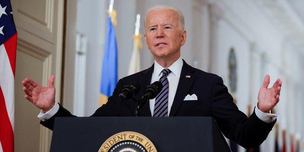 Le texte de loi du plan de sauvetage américain a été signé jeudi 11 mars par Joe Biden.