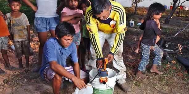 Communauté indigène Puerto Carreno Colombie
