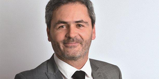 Samuel Hervé, président du Medef Hérault Montpellier.