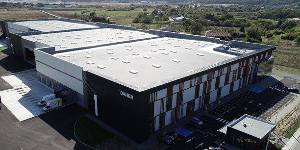 Daher a construit une plateforme logistique de 18.000 m2 à Cornebarrieu.