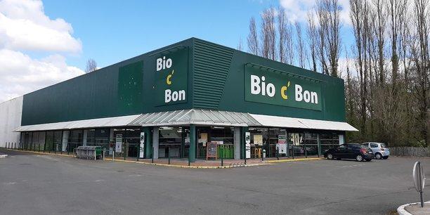 Carrefour a repris 107 magasins Bio c'Bon en novembre 2020. Ici à Mérignac.