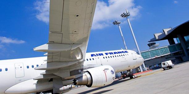 La navette Air France entre Bordeaux et Orly est à l'arrête depuis le printemps 2020.