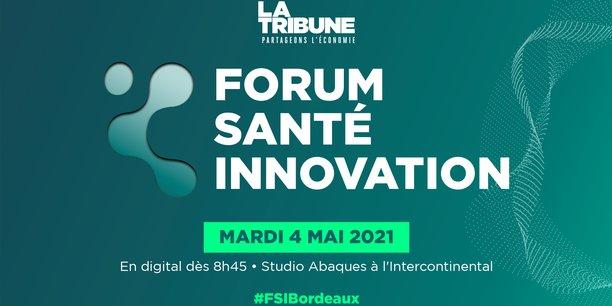Le Forum Santé Innovation Bordeaux se tiendra le mardi 4 mai 2021 à partir de 8h45.