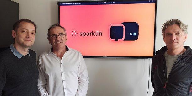 Ce trio d'entrepreneurs nantais a fondé Sparklin pour démocratiser la charge lente et combler un trou dans la raquette dans l'offre de solutions de charge électrique des véhicules.