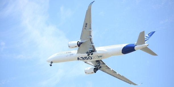 Airbus teste un vol avec uniquement du carburant à base d'huile usagée à bord d'un A350.