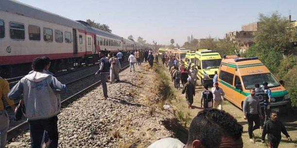 Collision de trains en egypte, 32 morts et 108 blesses[reuters.com]