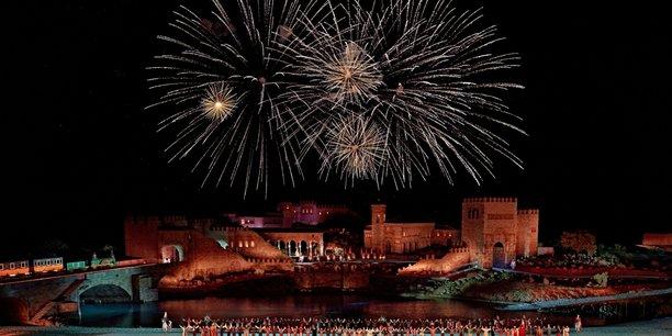 Sur 242 millions d'euros de budget escompté jusqu'en 2028, Le Puy du Fou a déjà investi 183 millions d'euros pour l'ouverture de Puy du Fou Espana à Tolède.