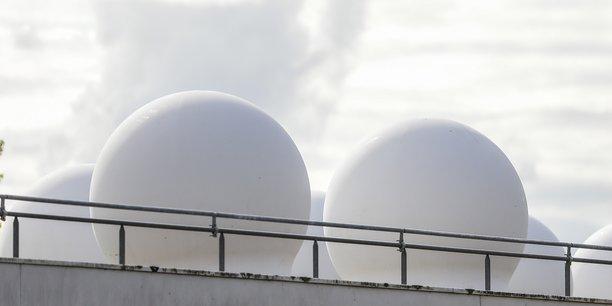 Les antennes de Starlink installées à Villenave-d'Ornon, dans la métropole bordelaise.