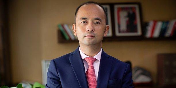 Philippe Wang, vice-président exécutif de Huawei Northern Africa.