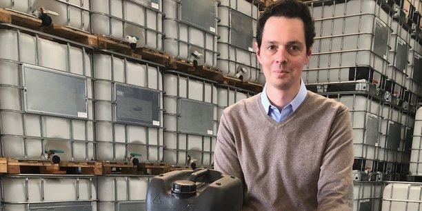 Embipack se pose en acteur de l'économie circulaire grâce au réemploi des bidons industriels après nettoyage, explique son fondateur Mathieu Bernard..