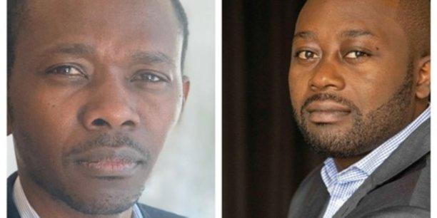 Guy Mountonga et Rodrigue Bodo, associés fondateurs de SafeTrade 101.