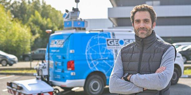 Mathias Saura, le président de Geosat