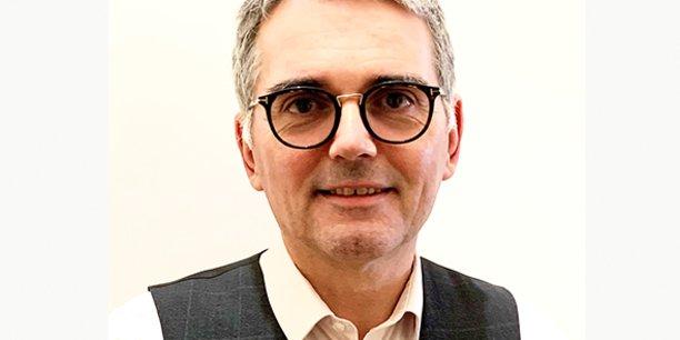 Benoit Rietzler, directeur national des ressources humaines, de la communication et du pilotage de la transformation du Crédit Agricole Technologies et Services (CATS), dont les 1.700 collaborateurs sont répartis sur six sites en France, dont 600 à Montpellier.