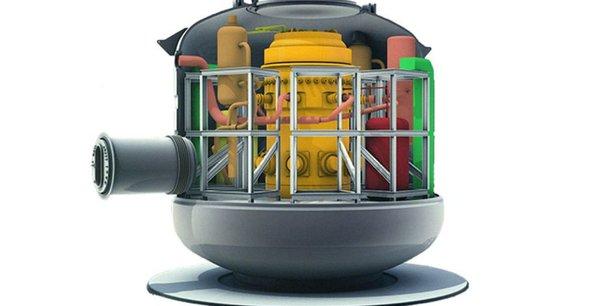 Pour Nuward, on parle de réacteurs qui en terme de puissance sont de l'ordre de 10 fois moins puissant qu'un EPR et de l'ordre de quatre fois plus qu'un réacteur de propulsion nucléaire navale, a souligné Loïc Rocard.