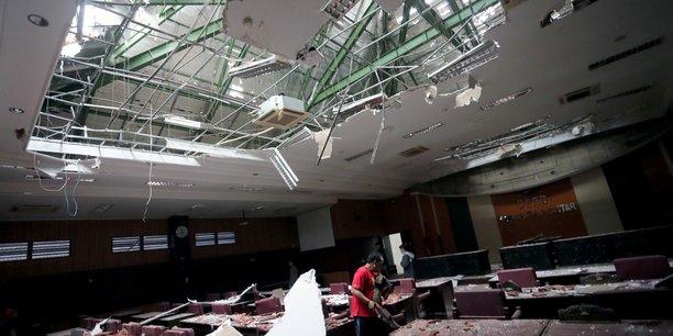 Un seisme frappe l'ile de java[reuters.com]