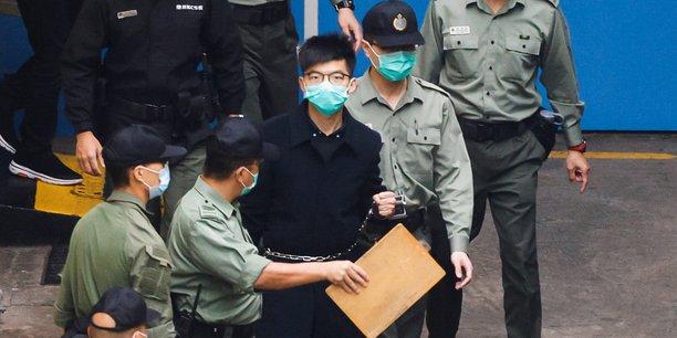 Hong kong: l'activiste joshua wong encore condamne a 4 mois de prison[reuters.com]