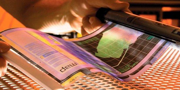 Les écrans souples en polymères sont aussi un sujet abordé par i2S.