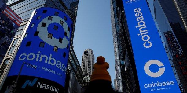 Coinbase valorisee pres de 100 milliards de dollars pour ses debuts en bourse[reuters.com]