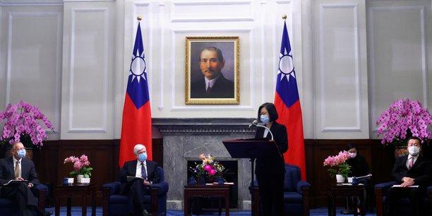 La presidente taiwanaise recoit les emissaires de biden[reuters.com]