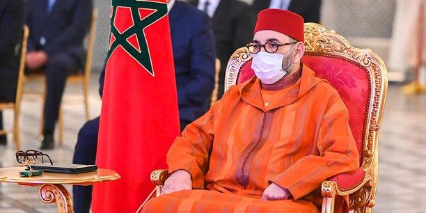 Mohammed VI au Palais Royal de Fès, le 14 avril 2021