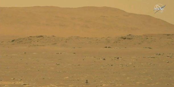 La nasa pilote un helicoptere sur mars, une premiere dans l'histoire spatiale[reuters.com]