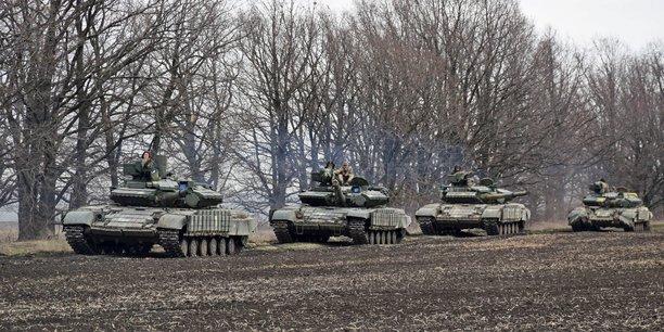 La russie continue de masser des troupes aux frontieres ukrainiennes, dit kiev[reuters.com]