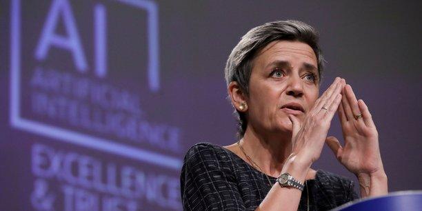 La commissaire européenne Margrethe Vestager veut encadrer l'usage de l'intelligence artificielle.