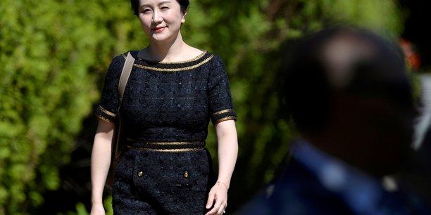 Report au canada d'une audience sur l'extradition de meng wanzhou (huawei)[reuters.com]