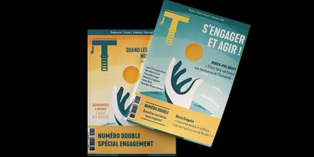 Le nouveau numéro de T La Revue paraît dans une édition double consacrée à l'engagement et la RSE.