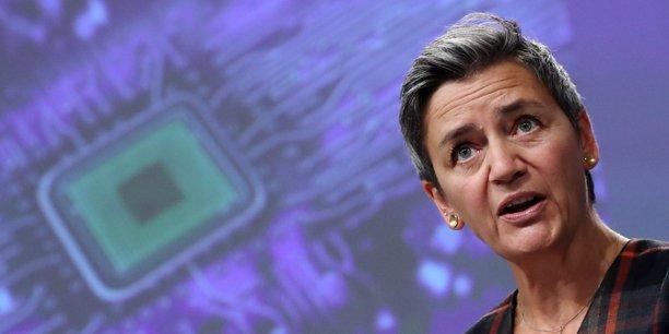 Margrethe Vestager, vice-présidente de la Commission européenne en charge du numérique et de la concurrence, le 7 octobre 2020.